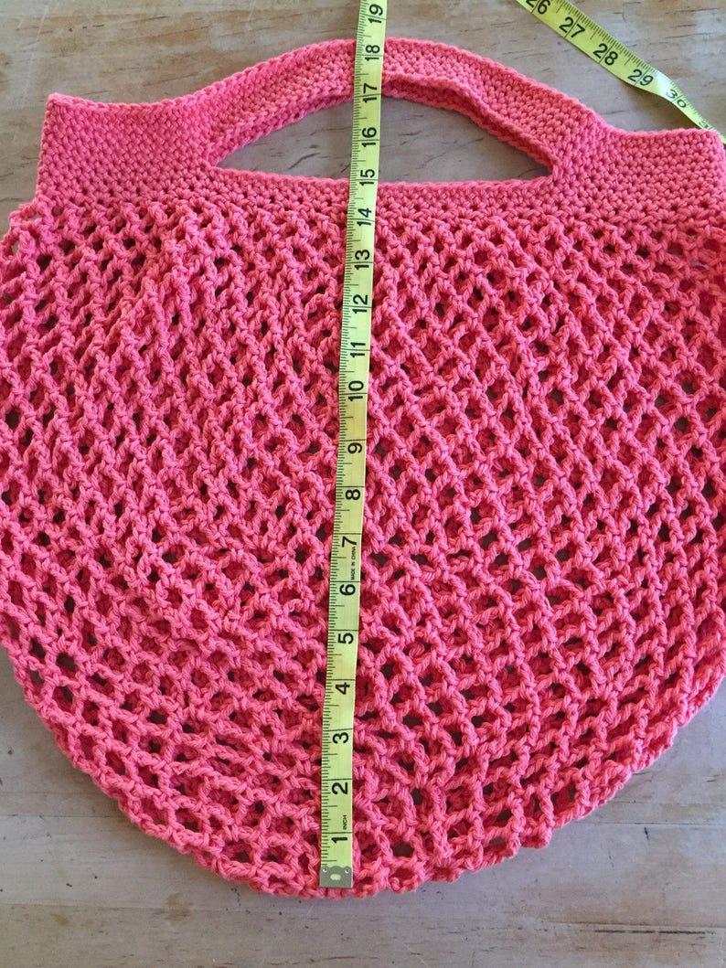 mesh grocery bag market mesh bag beach bag mesh bag Crochet cotton market bag