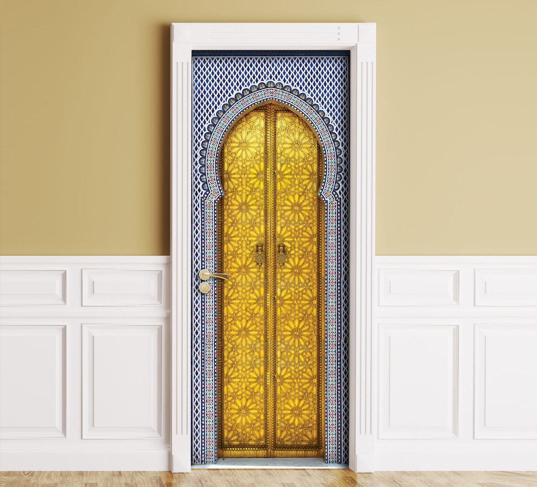 Sticker for Door / Wall / Fridge Aladdin palace doors. Peel | Etsy