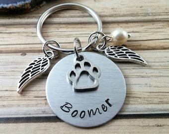 Dog Memorial Keychain - Pet Memorial Keychain - Pet Remembrance - Pet Loss Gifts - Pet Memorial Keychain - Cat Memorial - Dog Memorial