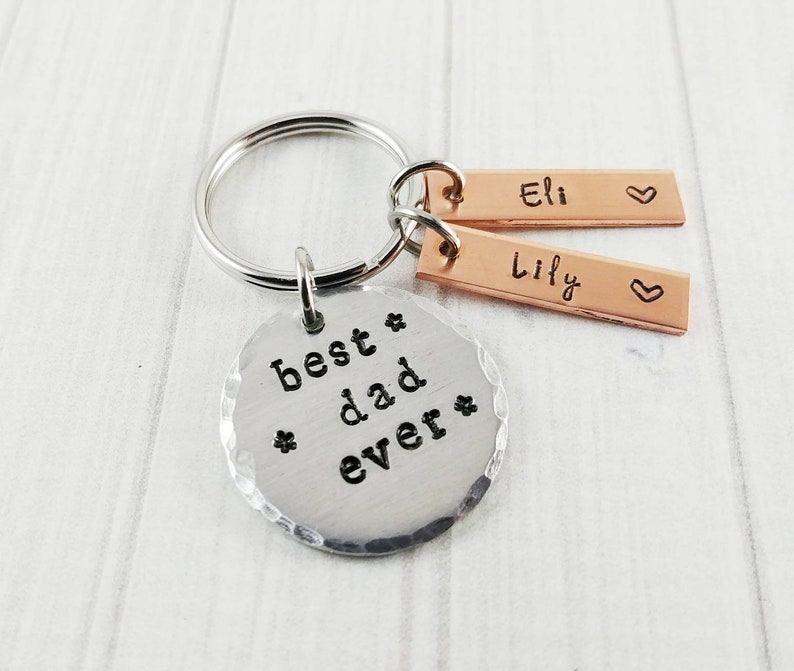 Dad Keychain Fathers Day Gifts For Dad New Dad Gift 1st image 0
