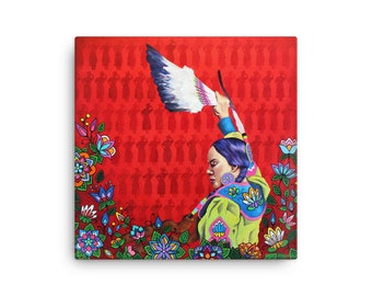 For Our Sisters by Hillary Kempenich Giclee Canvas