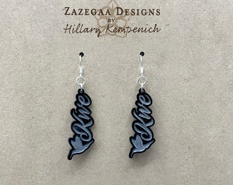 Kwe (Woman) Ojibwe Earring- Zazegaa Designs