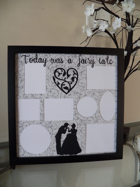 Disney Themed Picture Frame Wedding Gift Prom Collage Photo