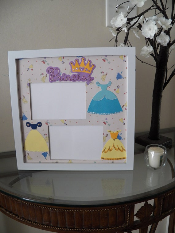 Cinderella Princess Disney Picture Frame Princesses Themed Etsy