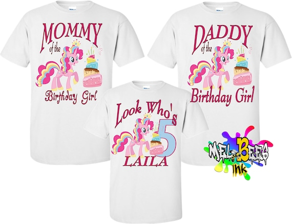 4bad374948b91 Birthday Girl Custom Family Unicorn Shirts Unicorn birthday party, matching  unicorn, unicorn theme birthday (Free Shipping in USA)