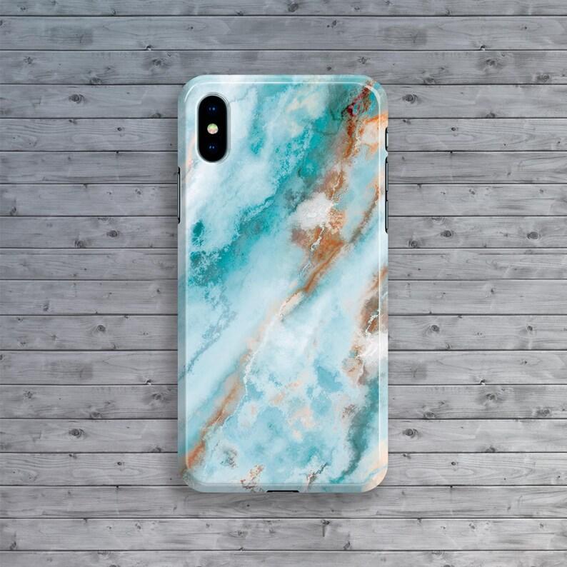 turquise iphone 8 case