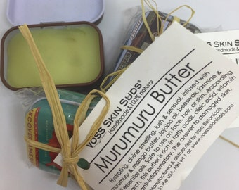 Murumuru Butter | Skin Balm | Skin Regeneration | Wrinkle Reducer | Eczema & Dermatitis Relief | Hair Butter Balm | Dry skin moisturizer