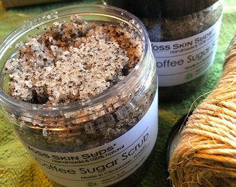 Coffee Scrub | Body Scrub | Coffee Sugar Scrub | Exfoliating | Skin Brightening | Coffee Gift | Skin Care | Cellulite Scrub | Sugar Scrub