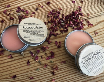 Rose Oil Skin Balm | Skin Regeneration | Wrinkle Reducer | Eczema & Dermatitis Relief | Shea Butter Balm | Dry skin moisturizer