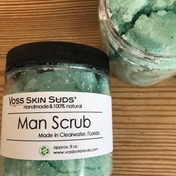 Sugar Scrub | Body Scrub | Cypress | Pine | Balsam Fir | White Fir | Frankincense | Exfoliating | Vegan Scrub | Man Gift | Fathers Day Gift