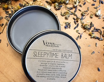Stress Relief   Lavender Sleep Balm   Tension Aid   Anxiety Gift   Sleepy Time Balm   Relaxation   Self-Care Gift Box