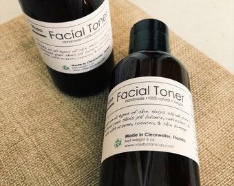 Skin Toner Alcohol Free Facial Toner Natural Face Toner Reduces Skin Redness  Calms Irritation Rosacea Psoriasis Sun Damage HasAloe+Lavender