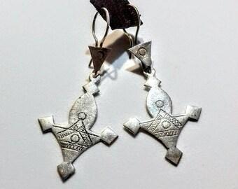 6e1ca3c8e649 Pendientes plata tuareg