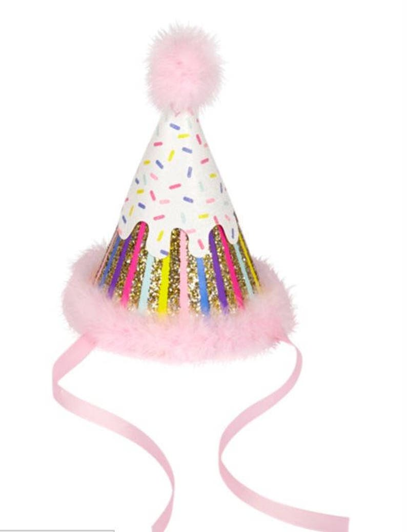 Fancy Birthday Hat For A Girl Or Fun Mom Candles Glitter And