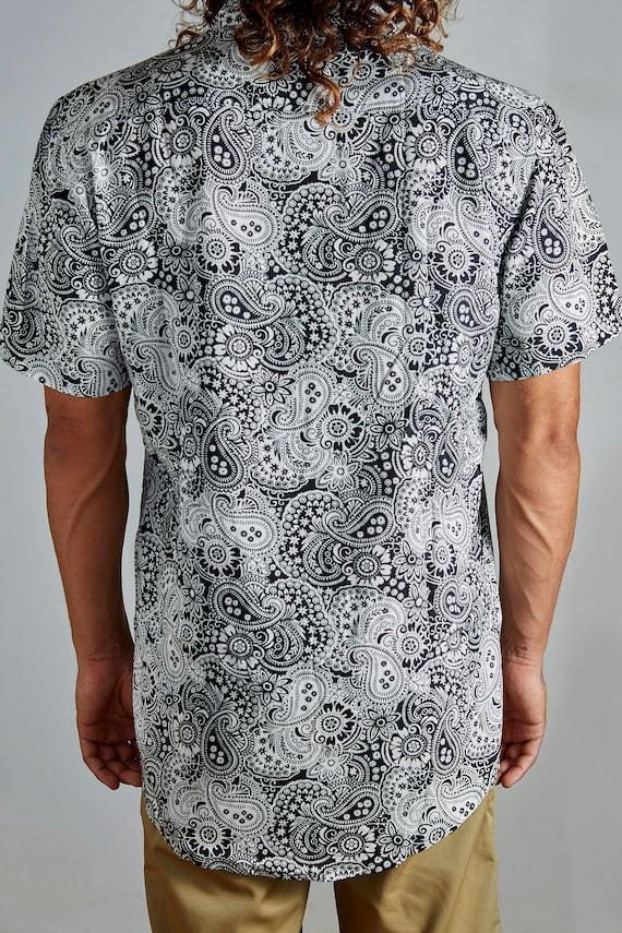 FraxBali - Batik Longline Shirt U3bFaTJ