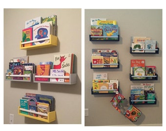 Childrens Book Wall Shelf Floating