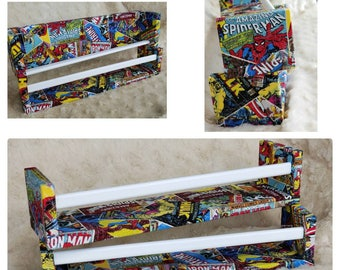 Character Theme Childrens Book Wall Shelf Marvel Super Hero Floating