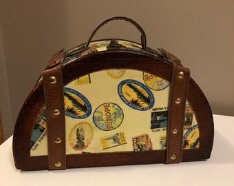 d8a9c404e3b3 Half circle bag | Etsy