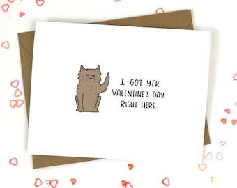 *mature content* I love how I don/'t have to pretend.. birthday anti valentine card Anniversary friendship valentine