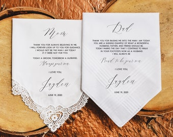 For Daddy Printed Hanky,Free Gift BoxCode MM1077 Father Of Bride Wedding\u00a0Handkerchief Gift Custom Hanky For Dad