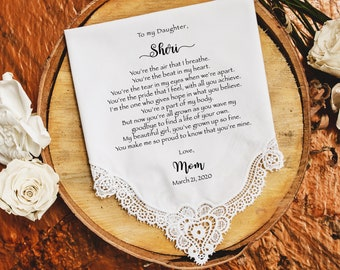 Bride Gift from Mom to Daughter on Wedding Day gift for Daughter on wedding day from Mother to Daughter Wedding - DG2
