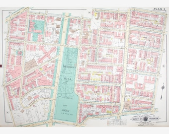 Adams Morgan Dc Map.Adams Morgan Map Etsy