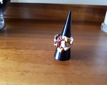 Mookaite Chip Ring