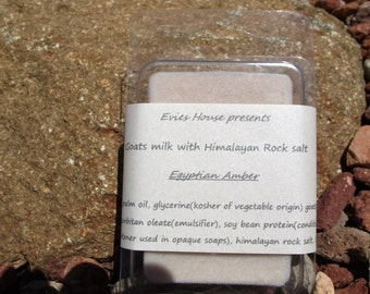 Goats milk Soap with Himalayan Rock Salt