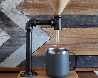 Industrial coffee Pour over by ROAM + WANDER