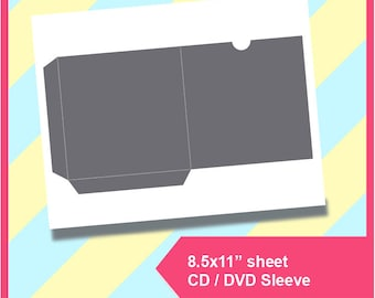 image about Printable Cd Sleeves identified as Printable cd sleeves Etsy