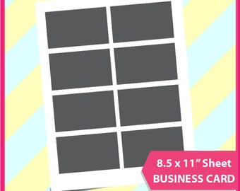 Business Card Gift Credit Template Microsoft Word Doc PSD PNG And SVG Dxf Formats 85x11 Sheet Printable 028