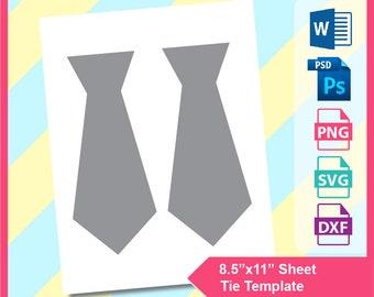 image relating to Tie Printable named Tie printable Etsy