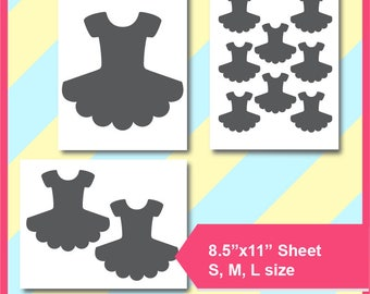 tutu template tutu svg microsoft word doc psd png and etsy
