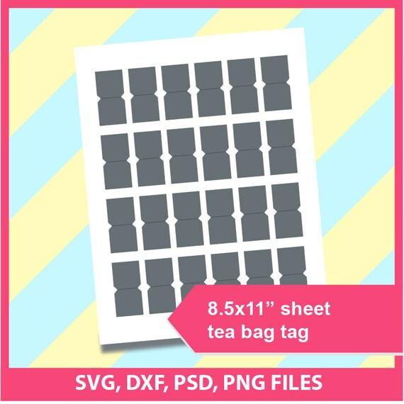 Instant download tea bag tag template microsoft word doc etsy image 0 maxwellsz