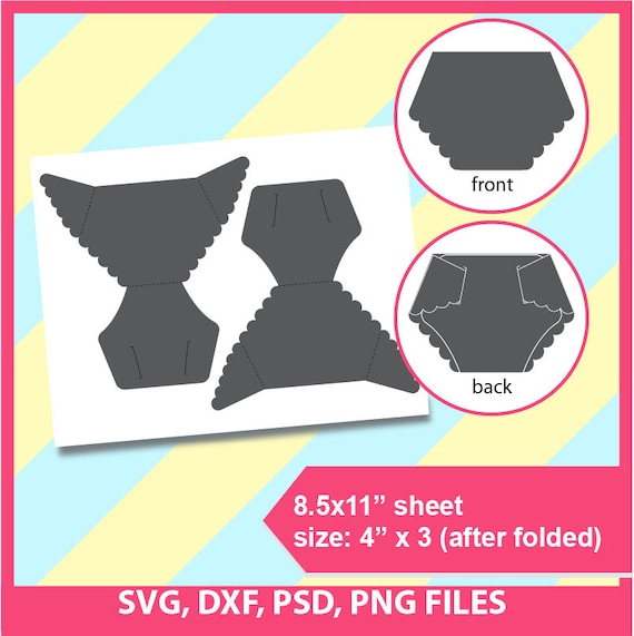 Diaper Card Template Microsoft Word Doc Psd Png And Svg Dxf Formats 8 5x11 Sheet Printable 188