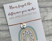 Nurses week 2021 bracelet, nurse appreciation gift, nurse gift, nurses day gift, nurses appreciation week