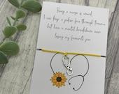 Quirky nurse bracelet, funny nurse gift, essential worker gift, nurse gift, nurses day gift, nurses appreciation week