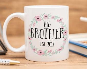 Big brother mug, beautiful gift for new Big brother!