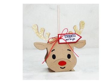 Reindeer Gift Box  Metal  Die Cutter