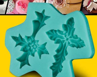 Dual Cross Silicone Mould
