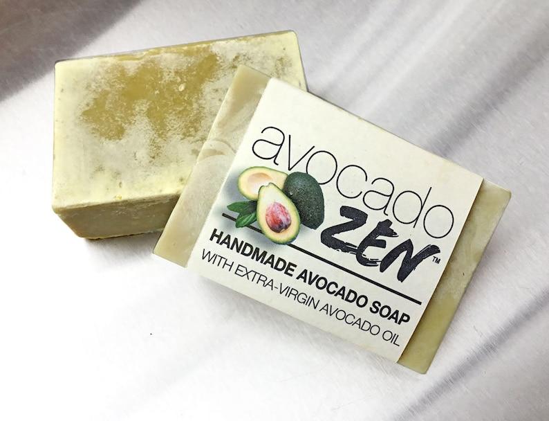 Handmade Avocado Soap image 0