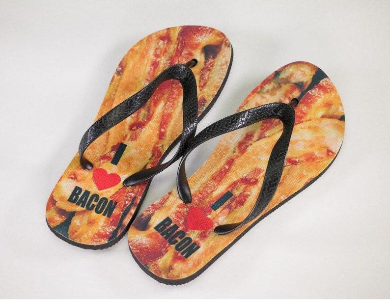 dd407c5877b87 Bacon Flip Flops