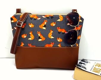 c16c9b2343e Fox purse | Etsy