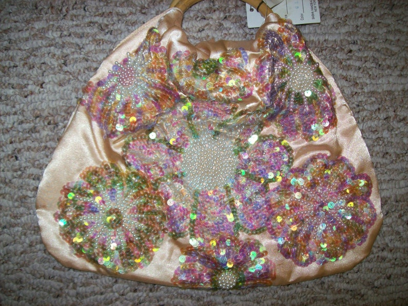 Vintage 80s 90s Handbag Purse from SASHAEaster or Springtime  a47b693ee88c8