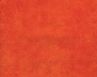 Shadow Play - Per Yd - Maywood Studio - Rich beautiful colors!  Orange - MAS513-M15