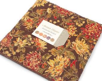 "Autumn Elegance - Layer Cake (42) 10"" squares   - Moda - by Sentimental Studios"