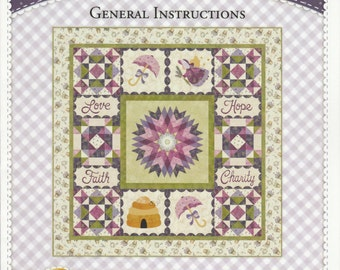 BOM - Garden Thyme - Full Pattern - by Shabby Fabrics