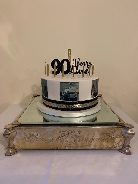 I Love The 80 S//1980 Personalised Cake Topper A4 Comestible glacé//Icing