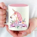 Personalized Unicorn Mug, Unicorn Lover Gift, Unicorn Lover Mug, Unicorn Gift, Unicorn Coffee Mug, Unicorn Mugs, Personalized Gift For Women