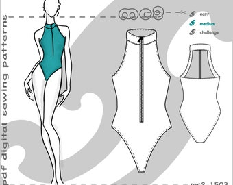 swimsuit pattern etsy